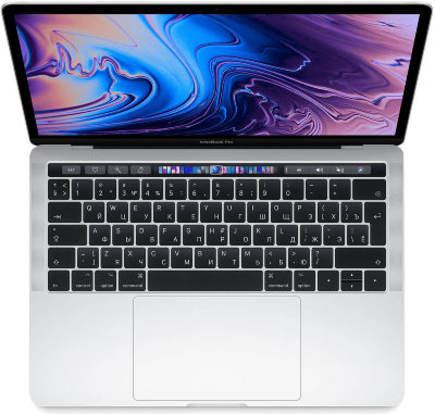 "Ноутбук MacBook Pro 13"" Core i5 2,4 ГГц, 8GB, 512 ГБ SSD, Iris Plus 655, серебристый"