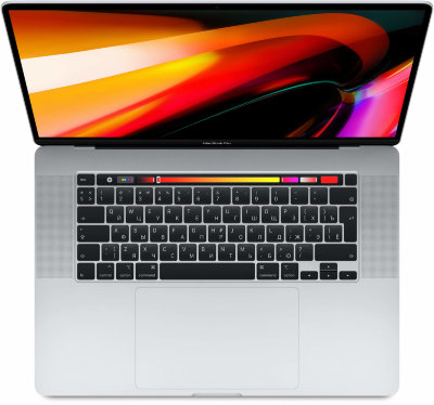 "Ноутбук Apple MacBook Pro 16 with Retina display and Touch Bar Late 2019 (Intel Core i9 2300MHz/16""/3072x1920/16GB/1024GB SSD/DVD нет/AMD Radeon Pro 5500M 4GB/Wi-Fi/Bluetooth/macOS) серебристый"