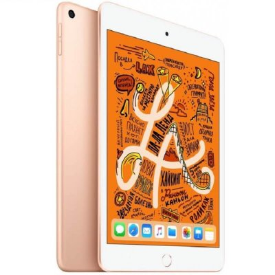 Планшет Apple iPad mini 5 64Gb Wi-Fi + Cellular New (золотой)
