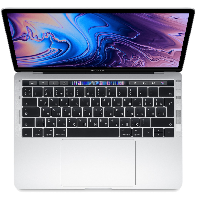 "Ноутбук Apple MacBook Pro 13"" Touch Bar MR9U2 (серебристый)"