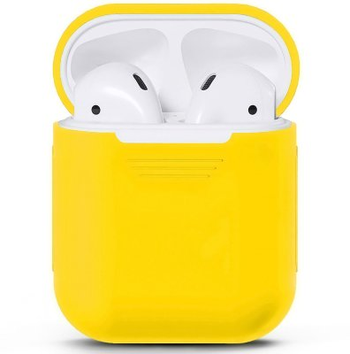 Чехол для Apple AirPods (желтый)