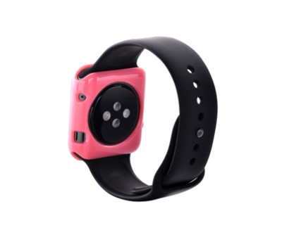 Devia Colorful чехол  Apple Watch 38MM (розовый)