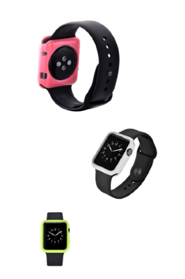 Devia Colorful чехол  Apple Watch 38MM (синий)