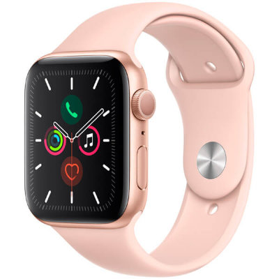 Смарт-часы Apple Watch S5 44мм розовый Sport Band
