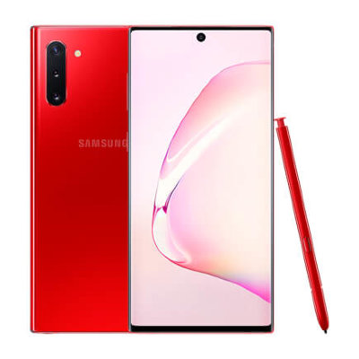 Смартфон Samsung Galaxy Note 10 8/256GB Красный