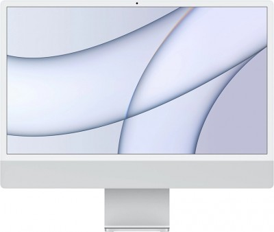 "Моноблок Apple iMac 24"" Retina 4,5K (M1 8C CPU, 8C GPU) 8/512GB SSD серебристый"