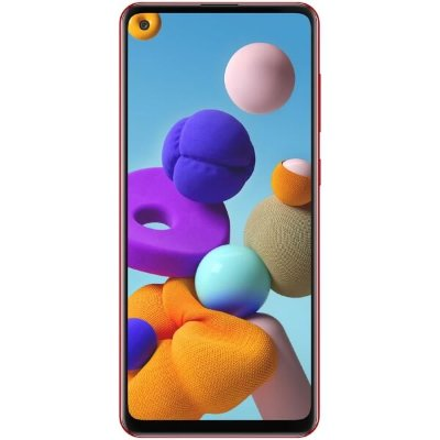 Смартфон Samsung Galaxy A21s 3/32GB (красный)