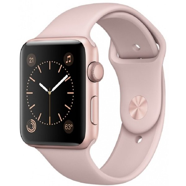 Умные часы Apple Watch Sport S1 42мм Pink