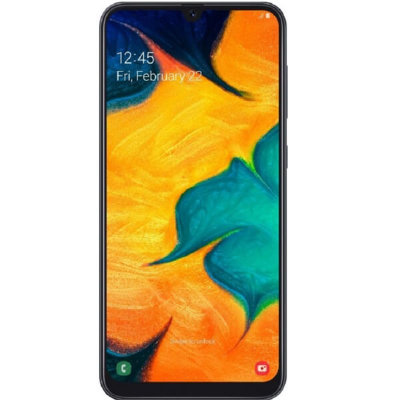 Смартфон Samsung Galaxy A30 4/64GB (черный)