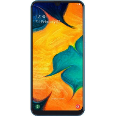 Смартфон Samsung Galaxy A30 4/64GB (синий)