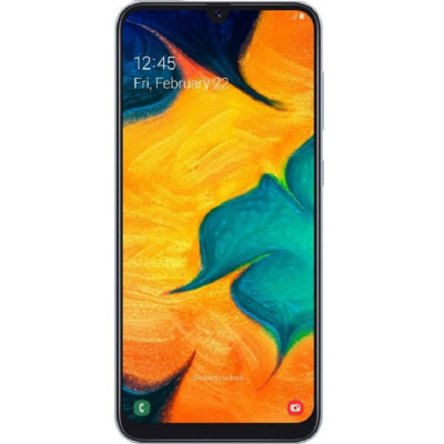 Смартфон Samsung Galaxy A30 4/64GB (белый)