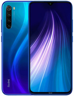 Смартфон Xiaomi Redmi Note 8 4/128 GB (синий) Global Version