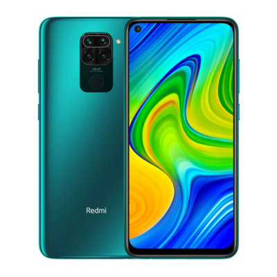 Смартфон Xiaomi Redmi Note 9 4/128GB (зеленый)