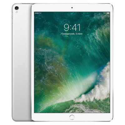 Планшет Apple iPad Pro 10.5 256GB LTE 2017 (серебристый)