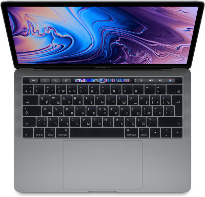 "Ноутбук MacBook Pro 13"" Core i5 2,4 ГГц, 8GB, 256 ГБ SSD, Iris Plus 655, серый"